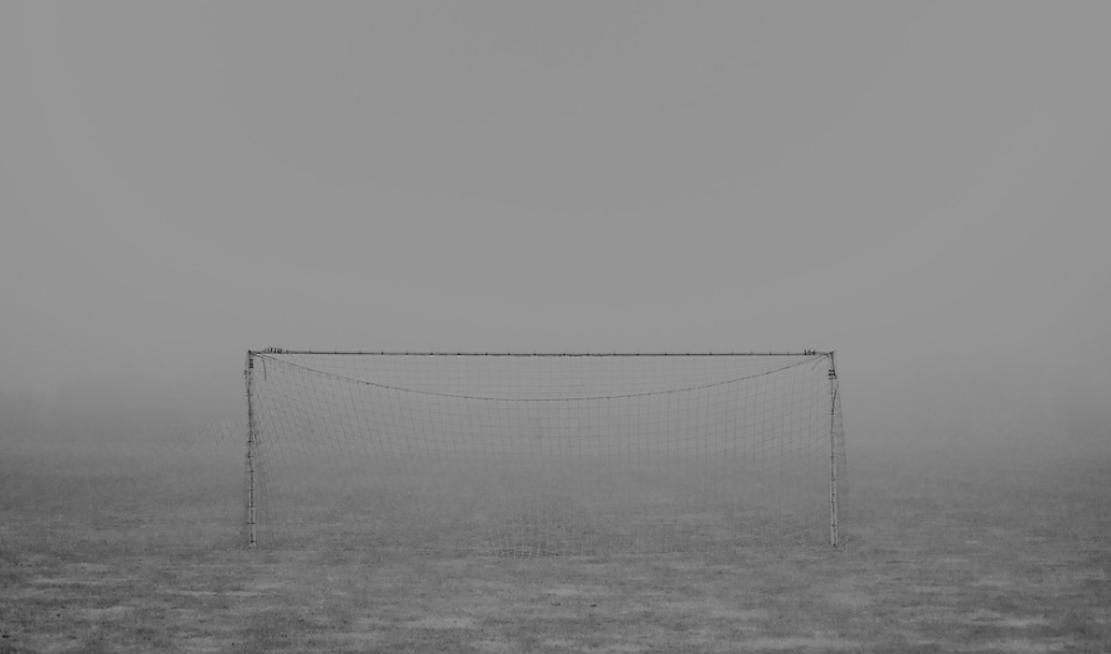 calcio nebbia